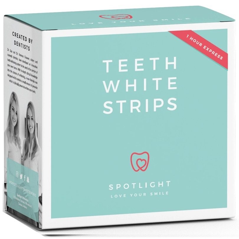 Spotlight Oral Care Teeth Whitening Strips Kit 1 Pack Of 14